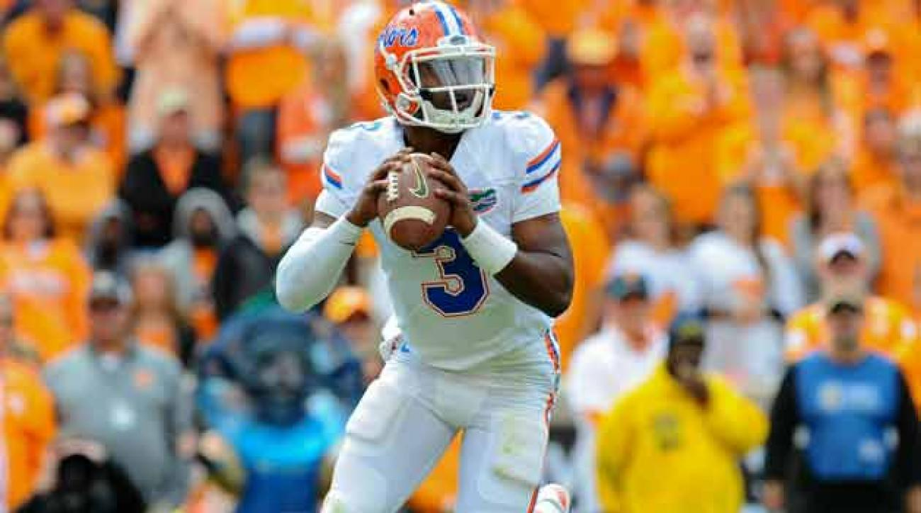 Florida quarterback Teon Harris
