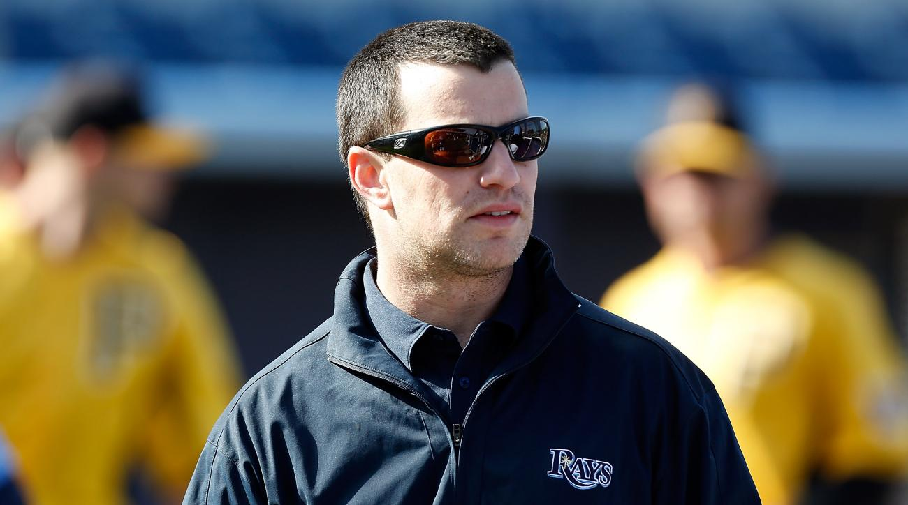 Andrew Friedman Tampa Bay Rays General Manager, Andrew Friedman possible replacement to Ned Colletti, Andrew Friedman Los Angeles Dodgers