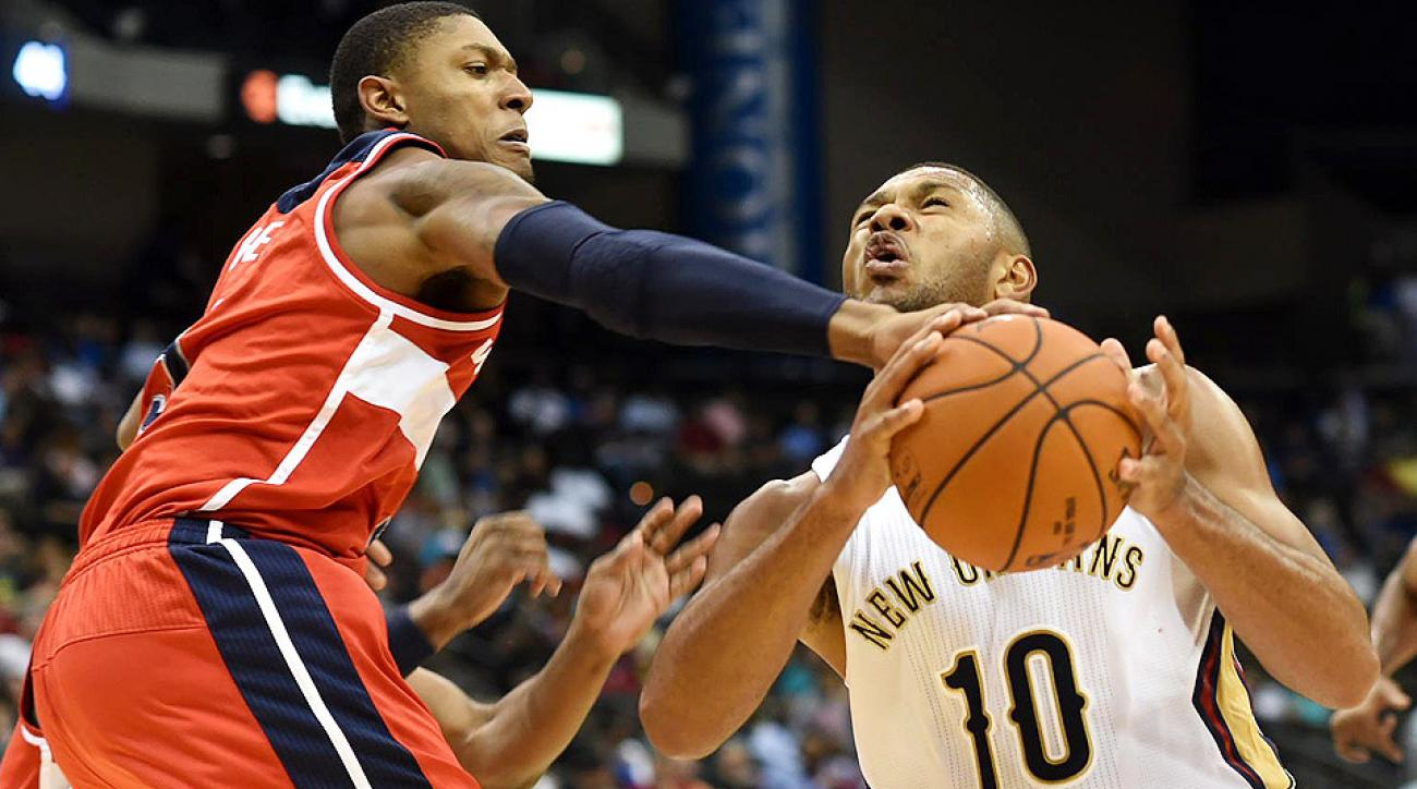 The Wizards beat the Pelicans 94-89 in Jacksonville, Fla., Wednesday night.