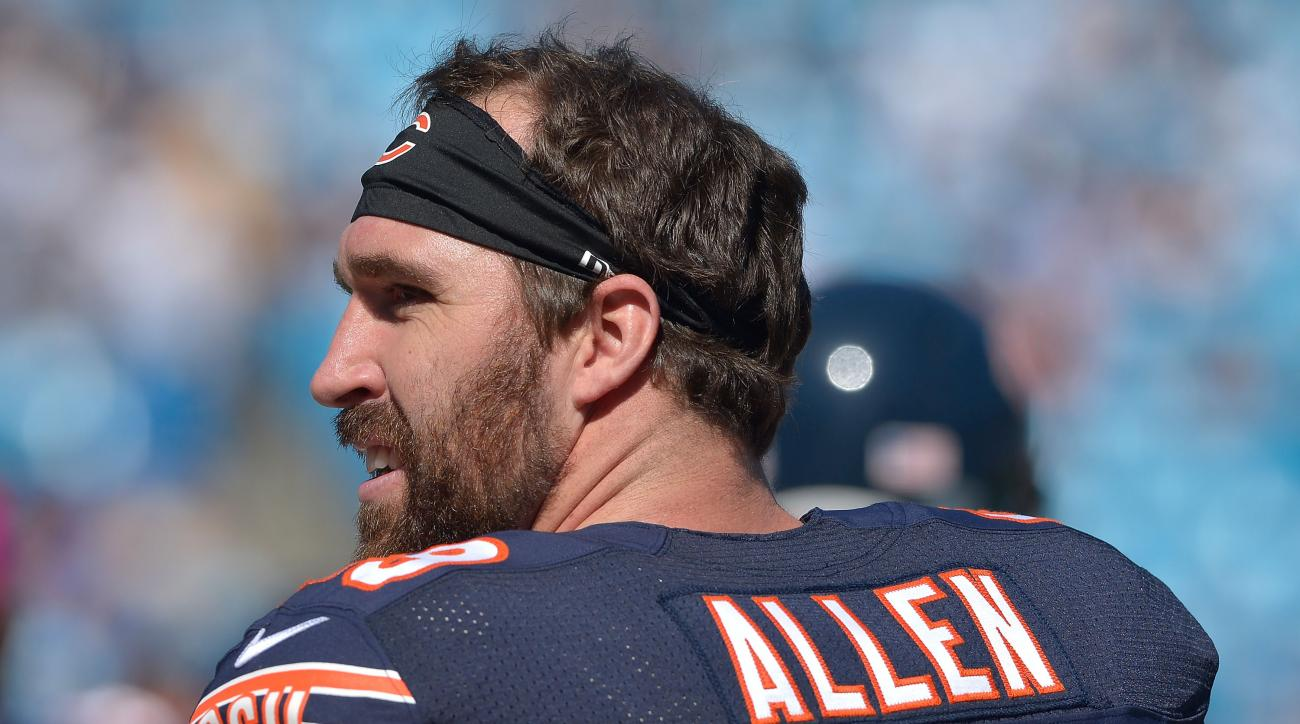 Bears' Jared Allen no sacks