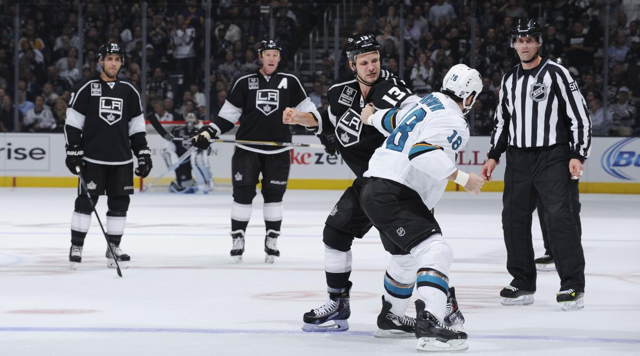 NHL fighting ban stop