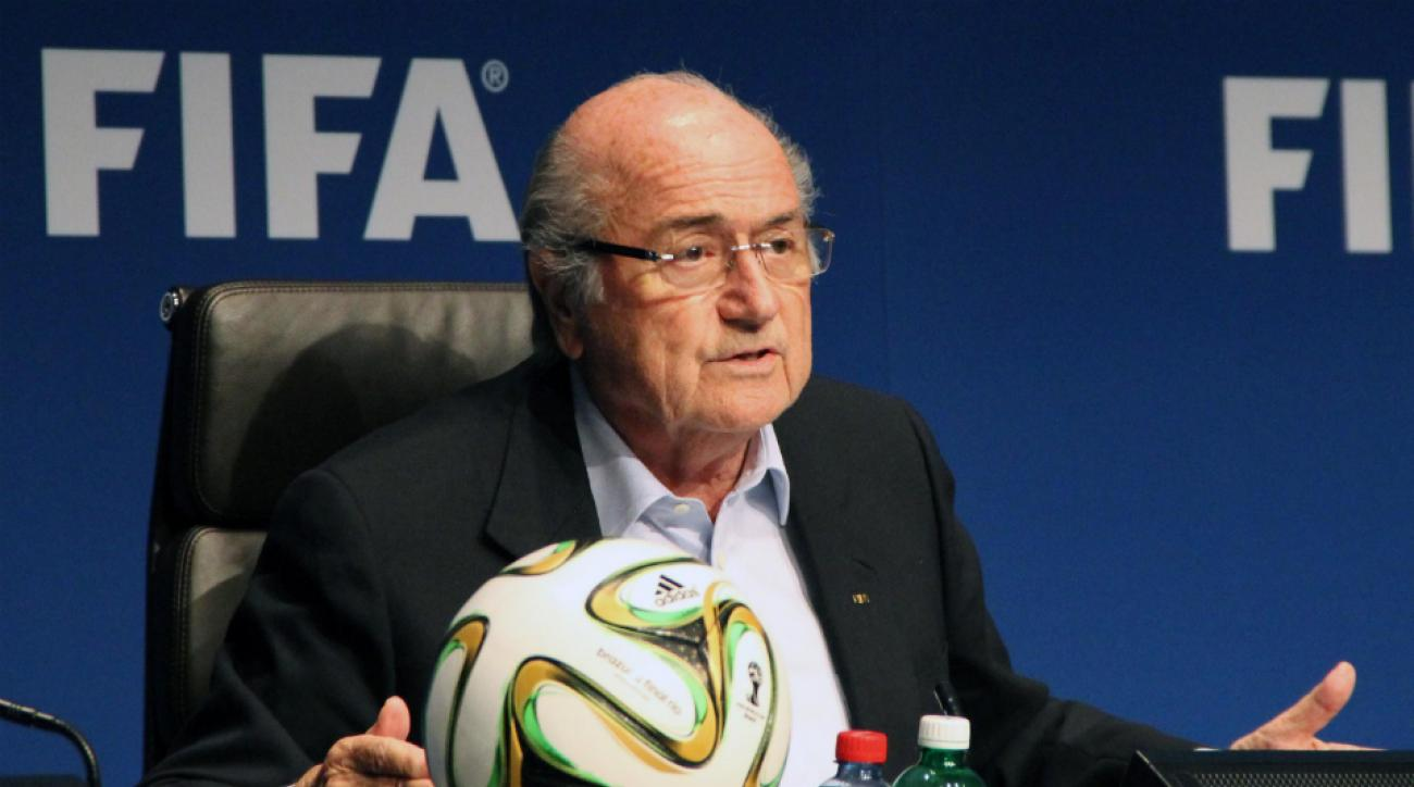 FIFA president Sepp Blatter world cup investigation report