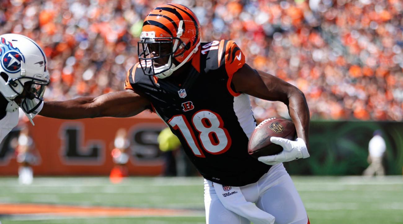 Cincinnati Bengals A.J. Green status
