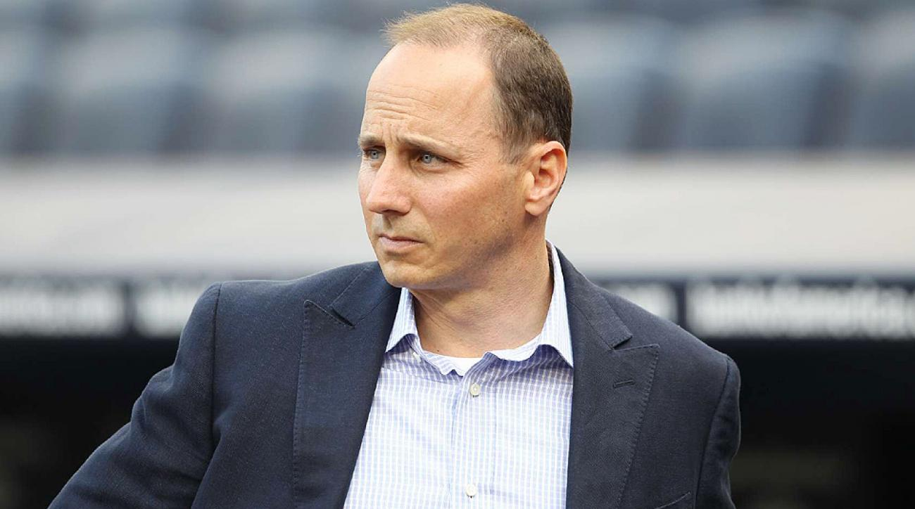 General Manager Brian Cashman signed a three-year extension with the New York Yankees on Friday.