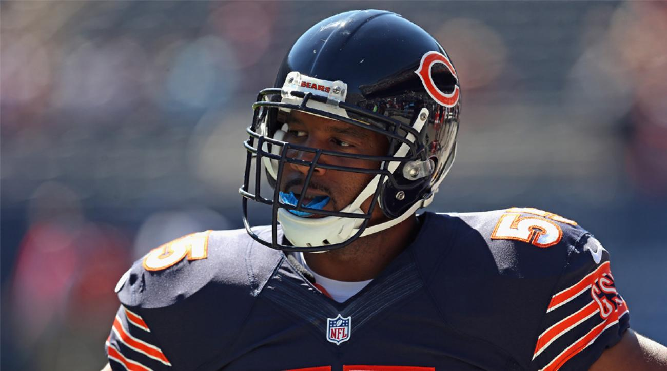 lance briggs bears rib injury