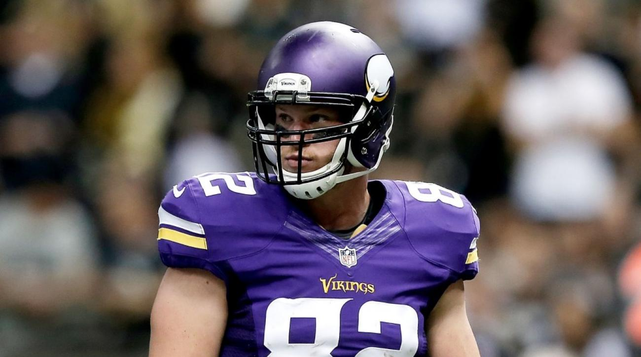 Kyle Rudolphs Vikings return Week 11 Bears