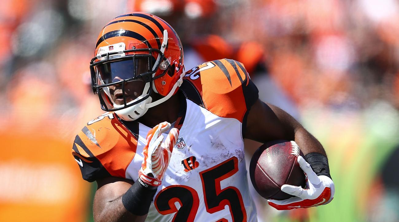 Gio Bernard run touchdown, Gio Bernard run Bengals vs. Panthers