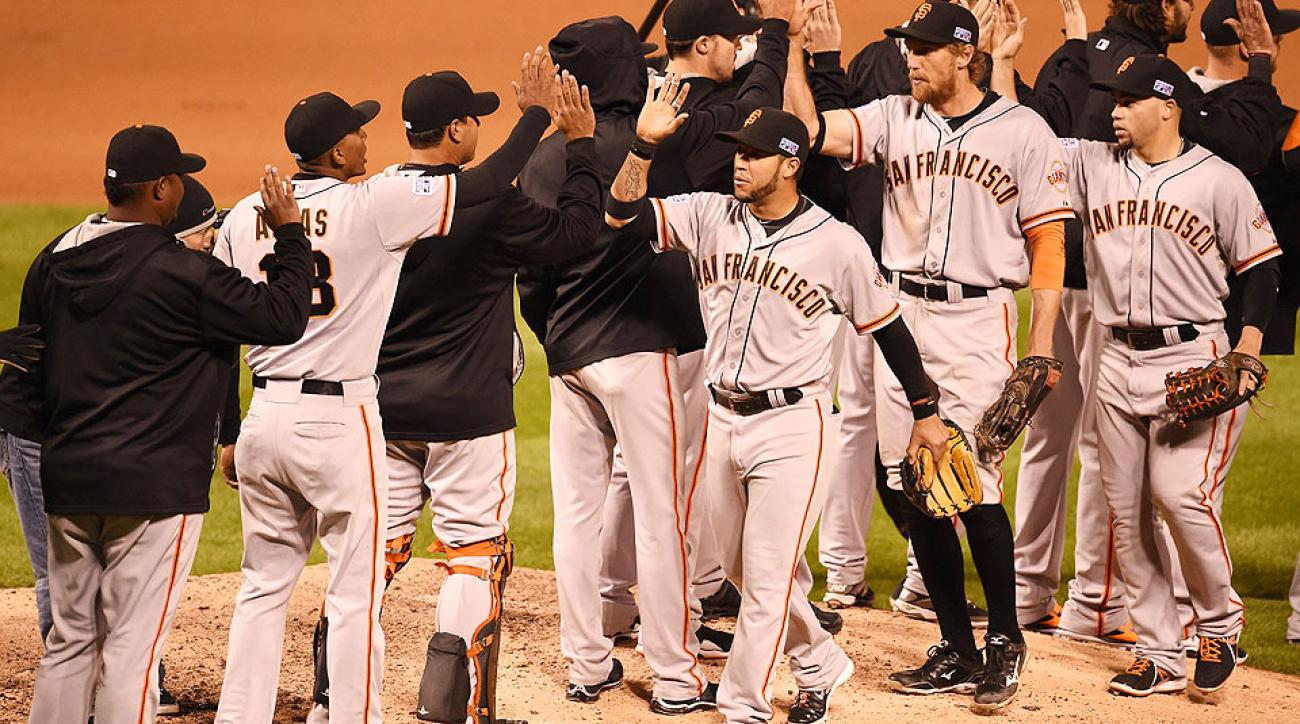 The Giants are up 1-0 in the NLCS against the Cardinals.