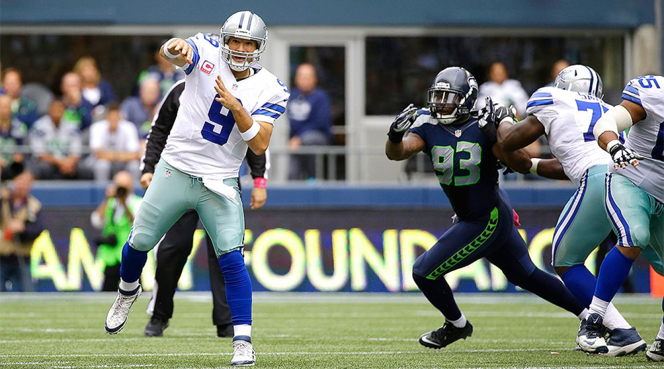 Tony Romo and the Dallas Cowboys took down the Seattle Seahawks in CenturyLink Field.