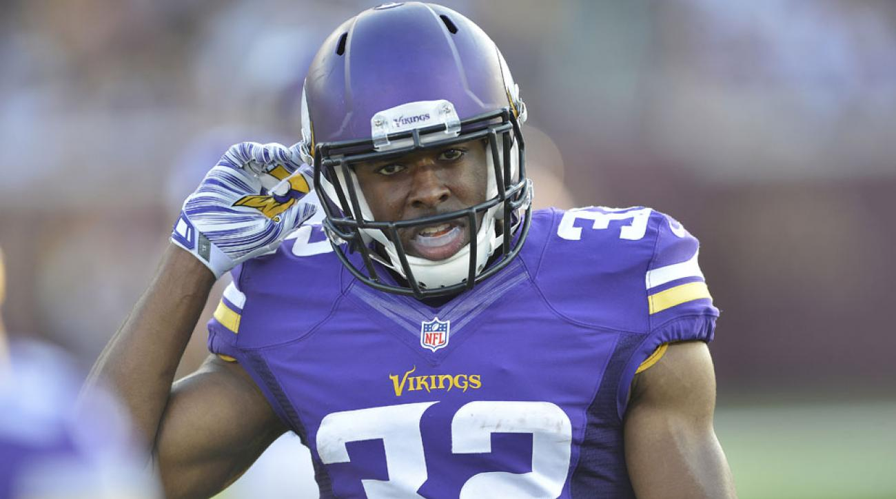 Minnesota Vikings safety Antone Exum Jr. will appeal his fine for an illegal block.