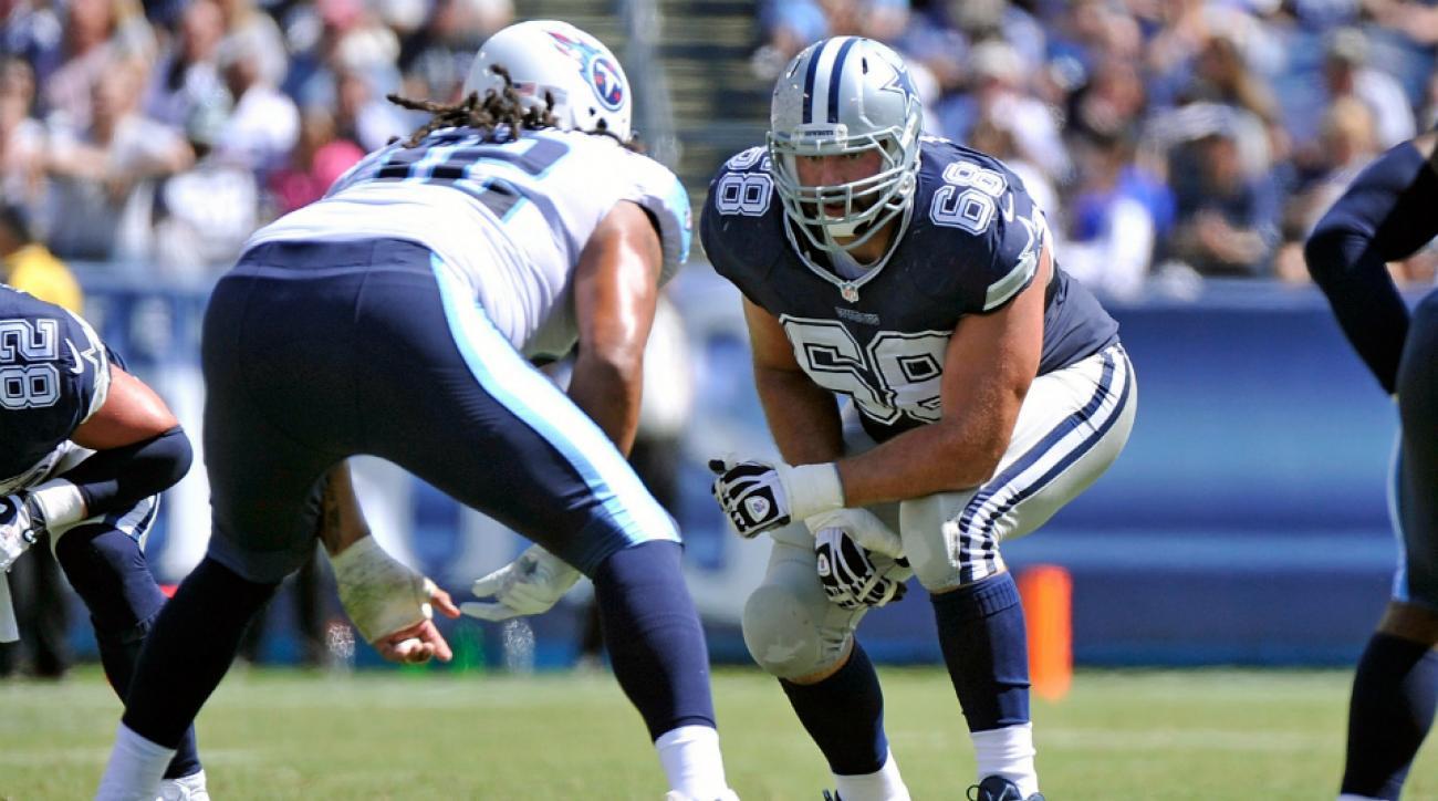 Cowboys RT Doug Free injury out several weeks