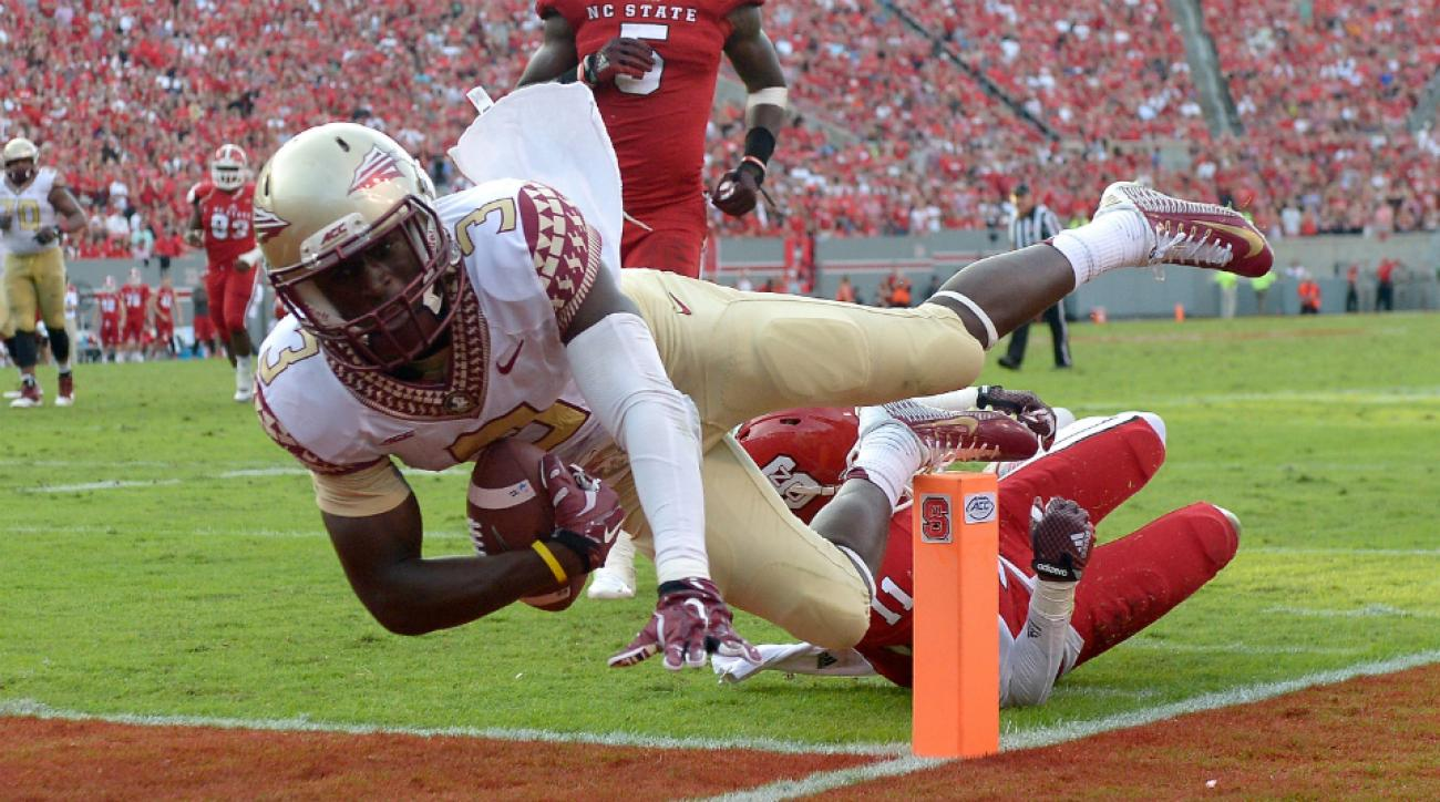 Florida State wide receiver Jesus Wilson no pressure on victim