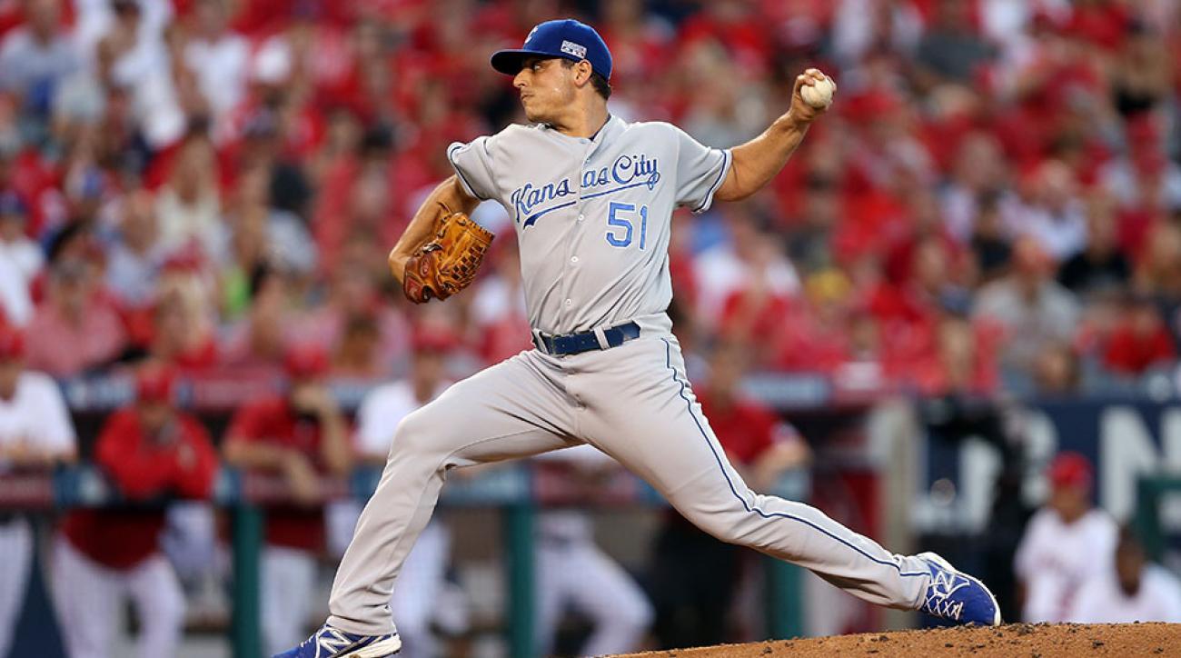 Kansas City Royals Jason Vargas