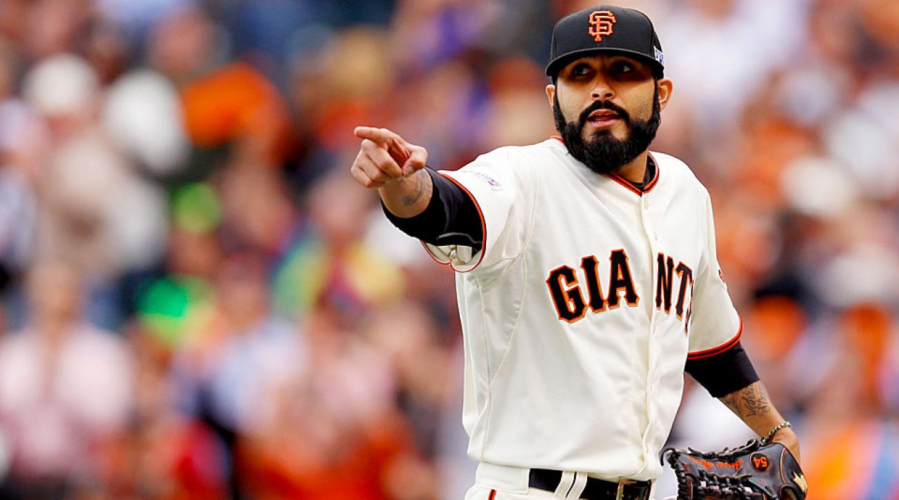 Sergio Romo Giants NLCS Game 3