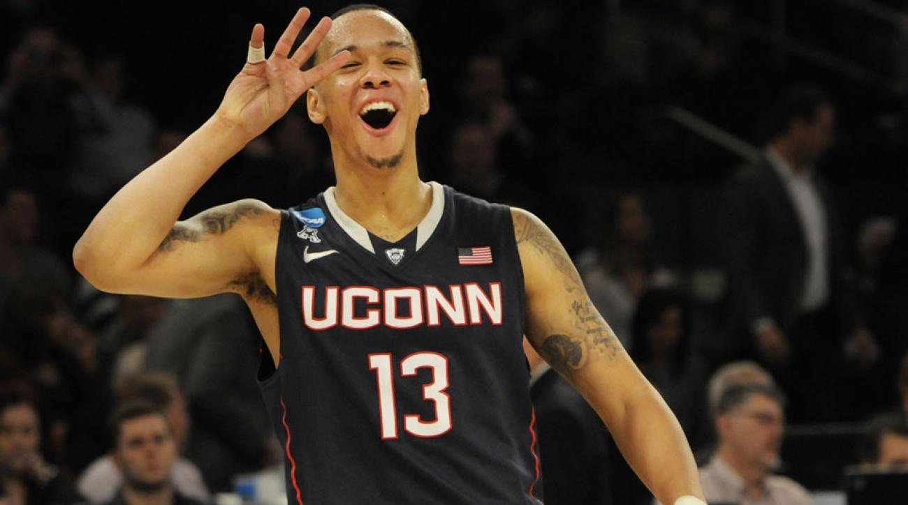 low priced 4a313 a40c0 UConn men's basketball: School names horse after Shabazz ...