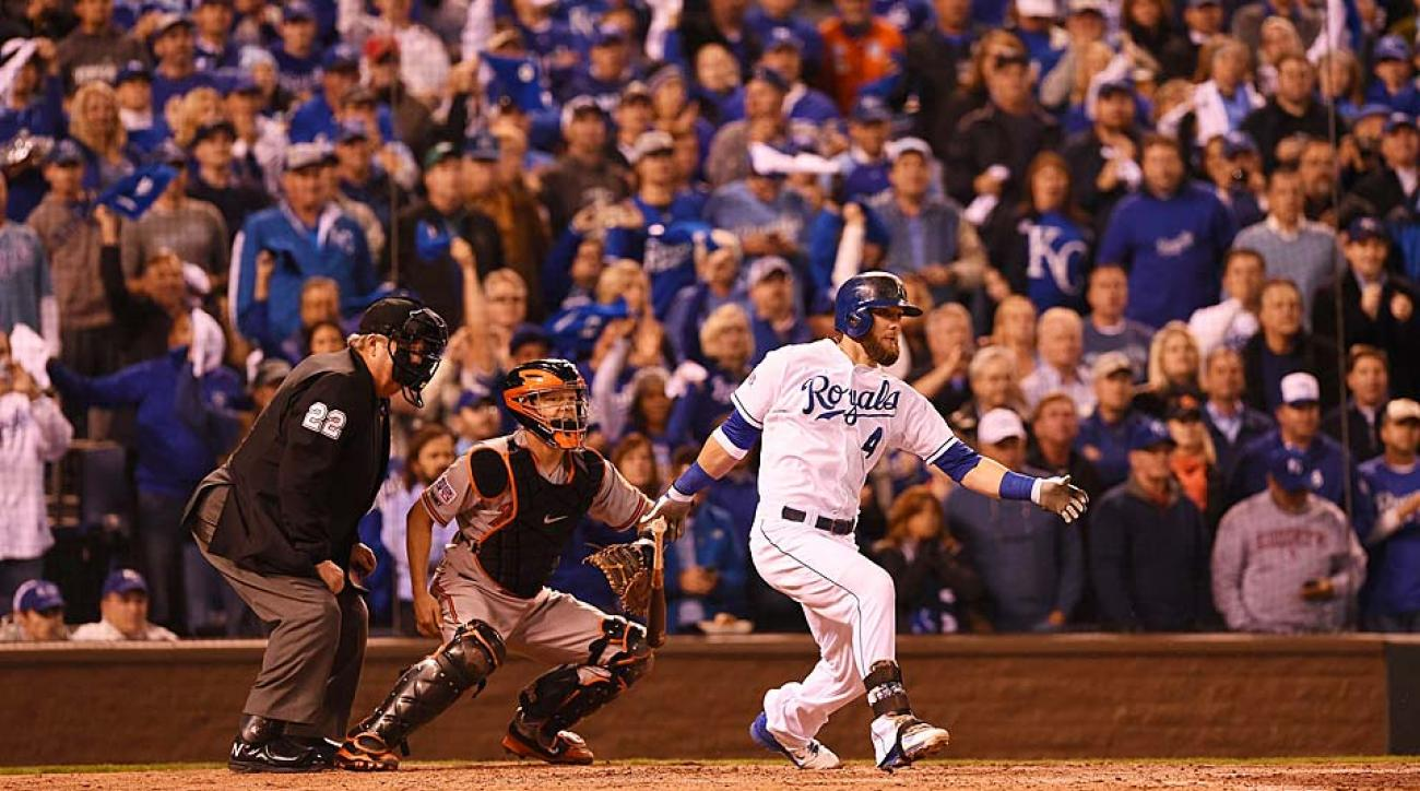 Alex Gordon Royals ALCS Game 3