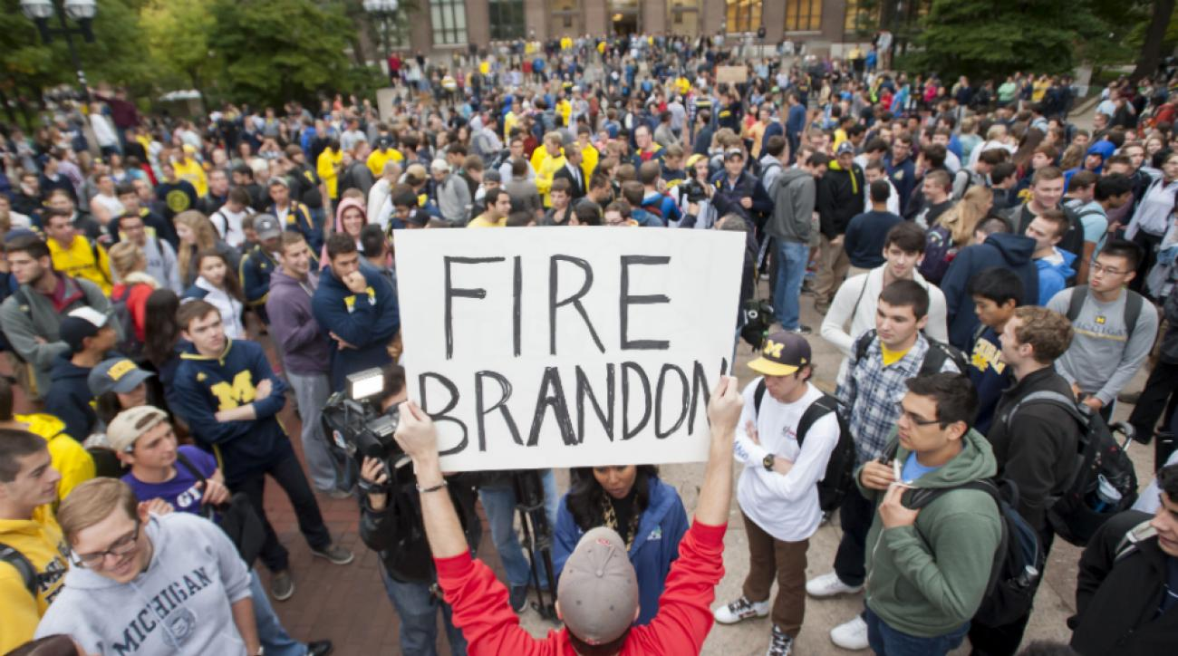 Michigan regents discuss AD Dave Brandon