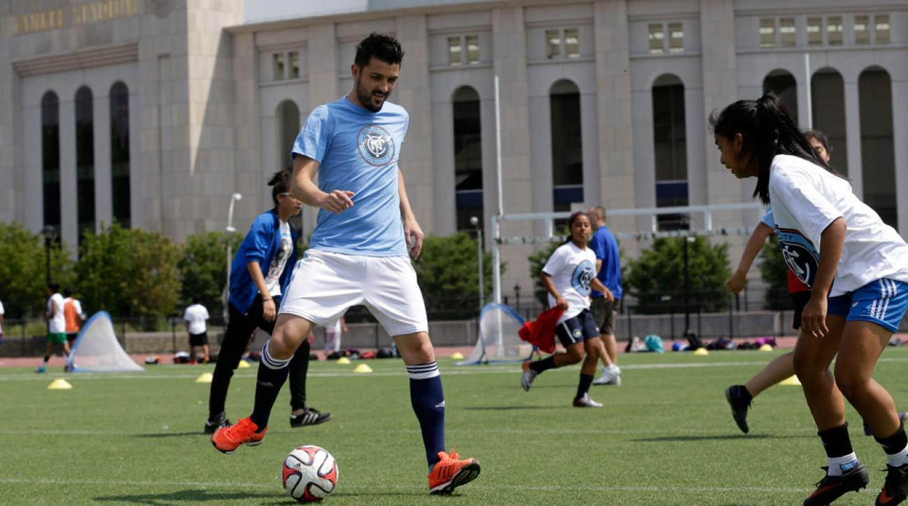 NYCFC has already signed Spain's David Villa (pictured)