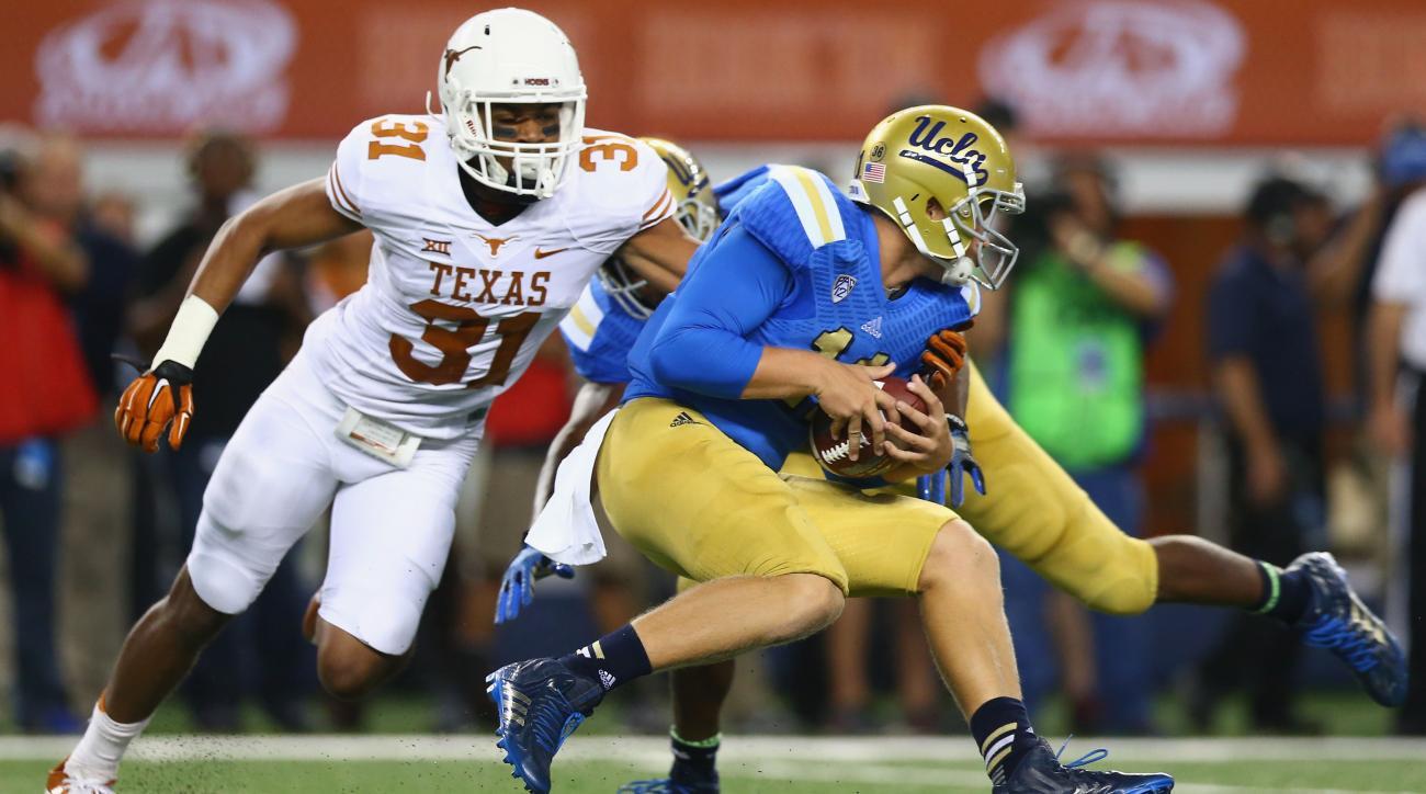 Texas safety Jason Hall patellar tendon injury out