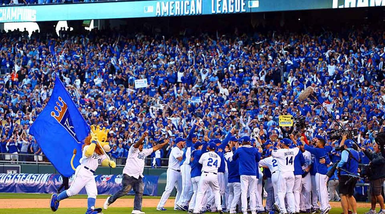 Royals win ALCS defeat Orioles