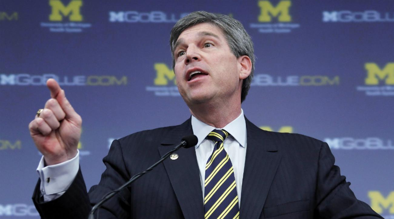 Michigan coaches signed letter support Dave Brandon