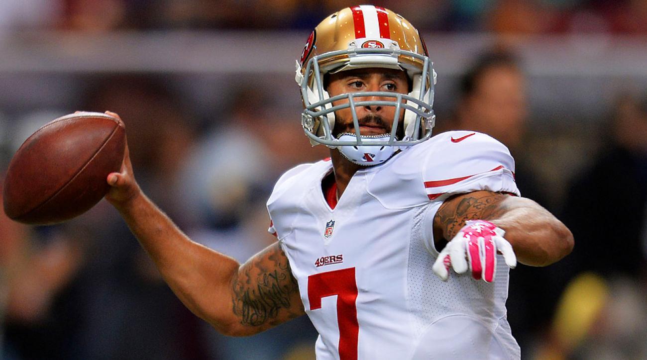 Week 7 Start 'Em, Sit 'Em: Sit Kaepernick this week as 49ers take on Broncos
