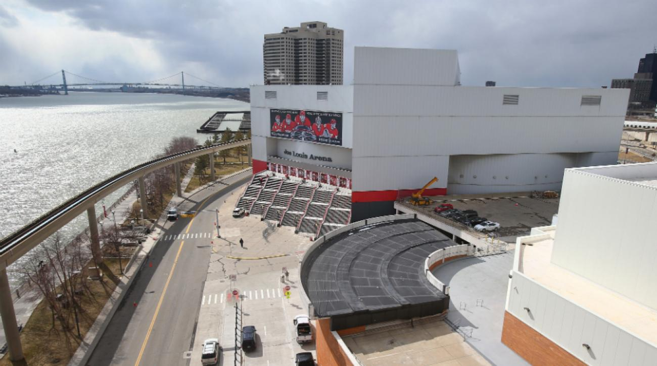 Joe Louis Arena developed Detroit bankruptcy