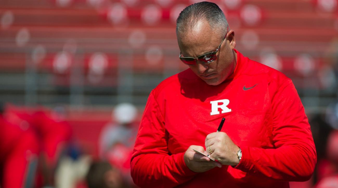 Kyle Flood Rutgers