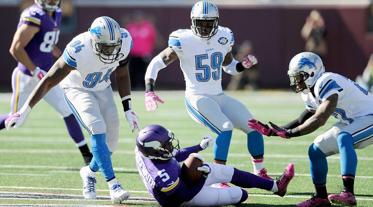 Ziggy Ansah, Glover Quin and Tahir Whitehead: Detroit Lions defense earning title of NFL's best while trying to guide team to playoffs