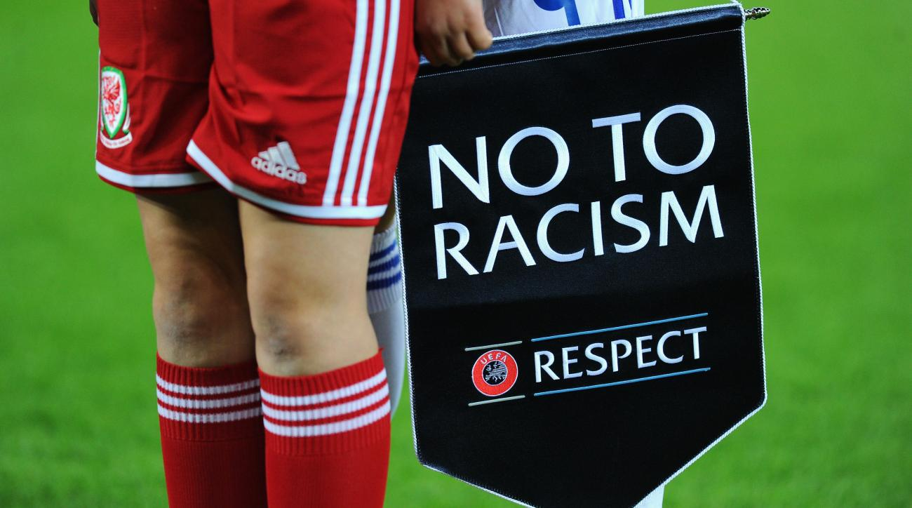 Racist soccer fans