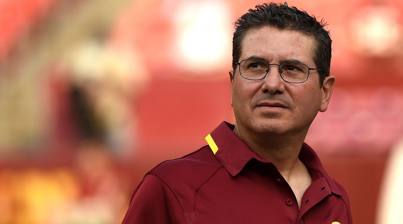 Redskins team name controversy Daniel Snyder