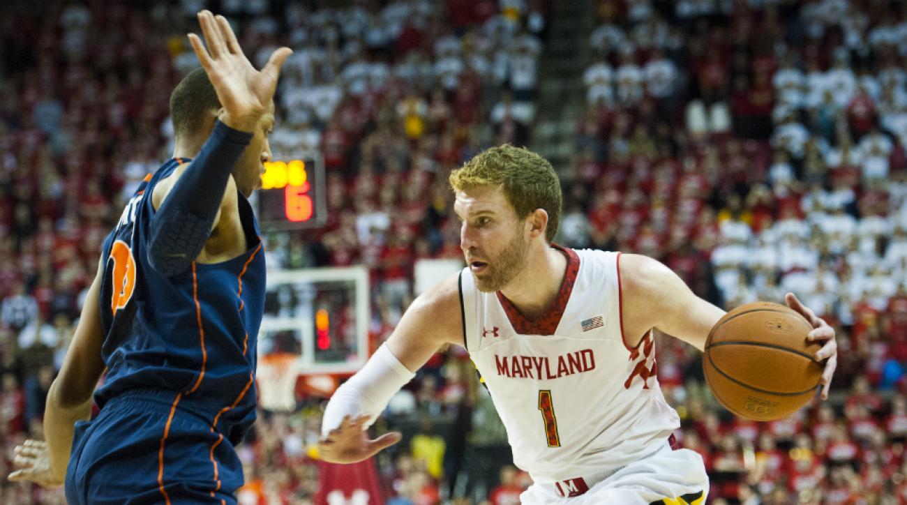 Maryland forward Evan Smotrycz injury