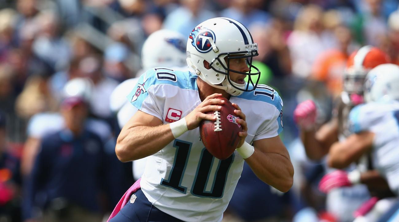 Titans Jake Locker injury status