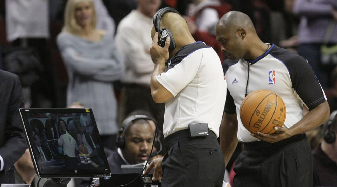 NBA makes changes to instant replay rules