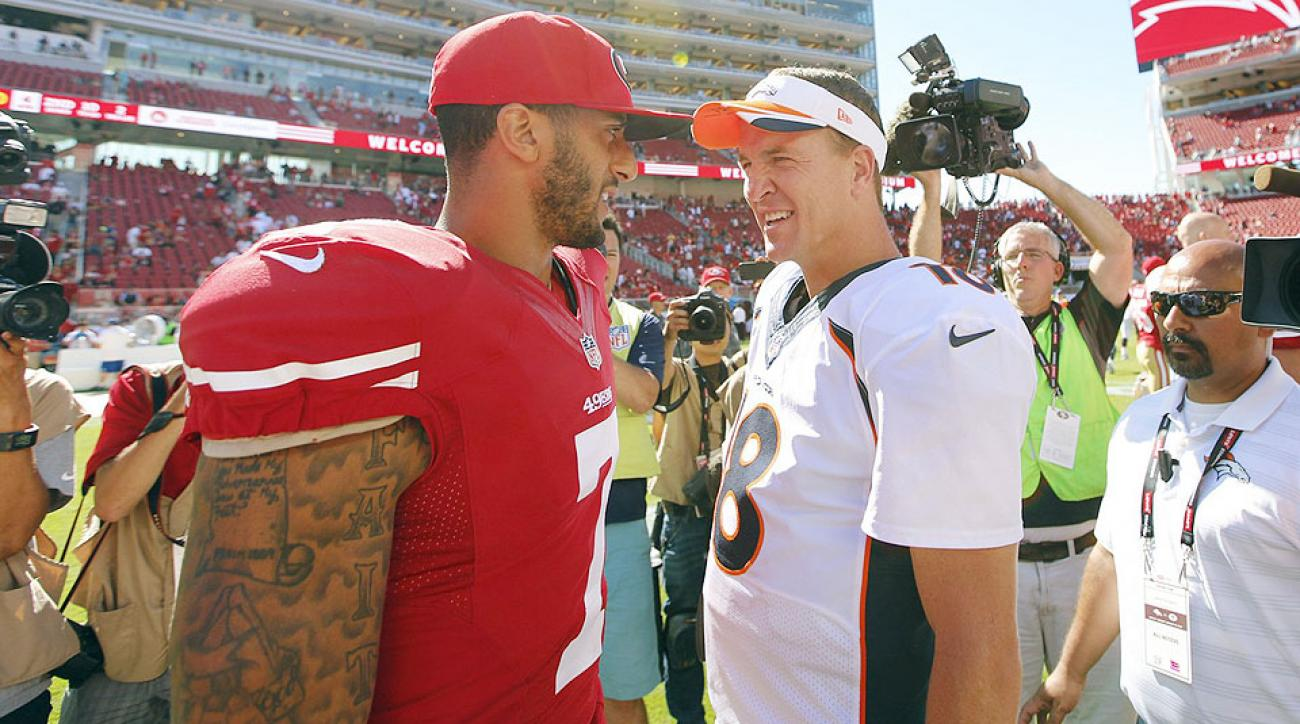 NFL odds Week 7: Peyton Manning chasing Brett Favre's record as Broncos, 49ers meet on Sunday Night Football
