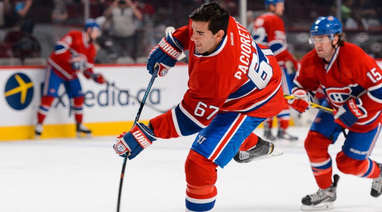 Max Pacioretty, Canadiens