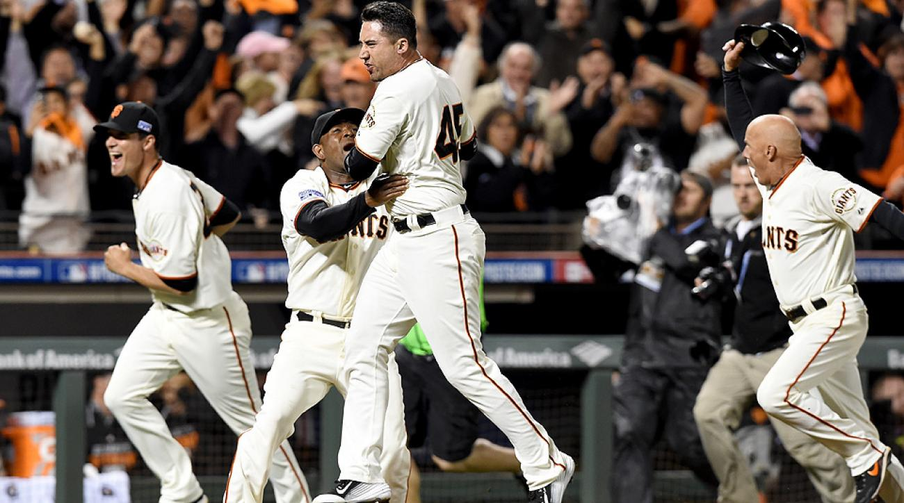 Travis Ishikawa hit a three-run walk-off home run to send the Giants to the World Series.