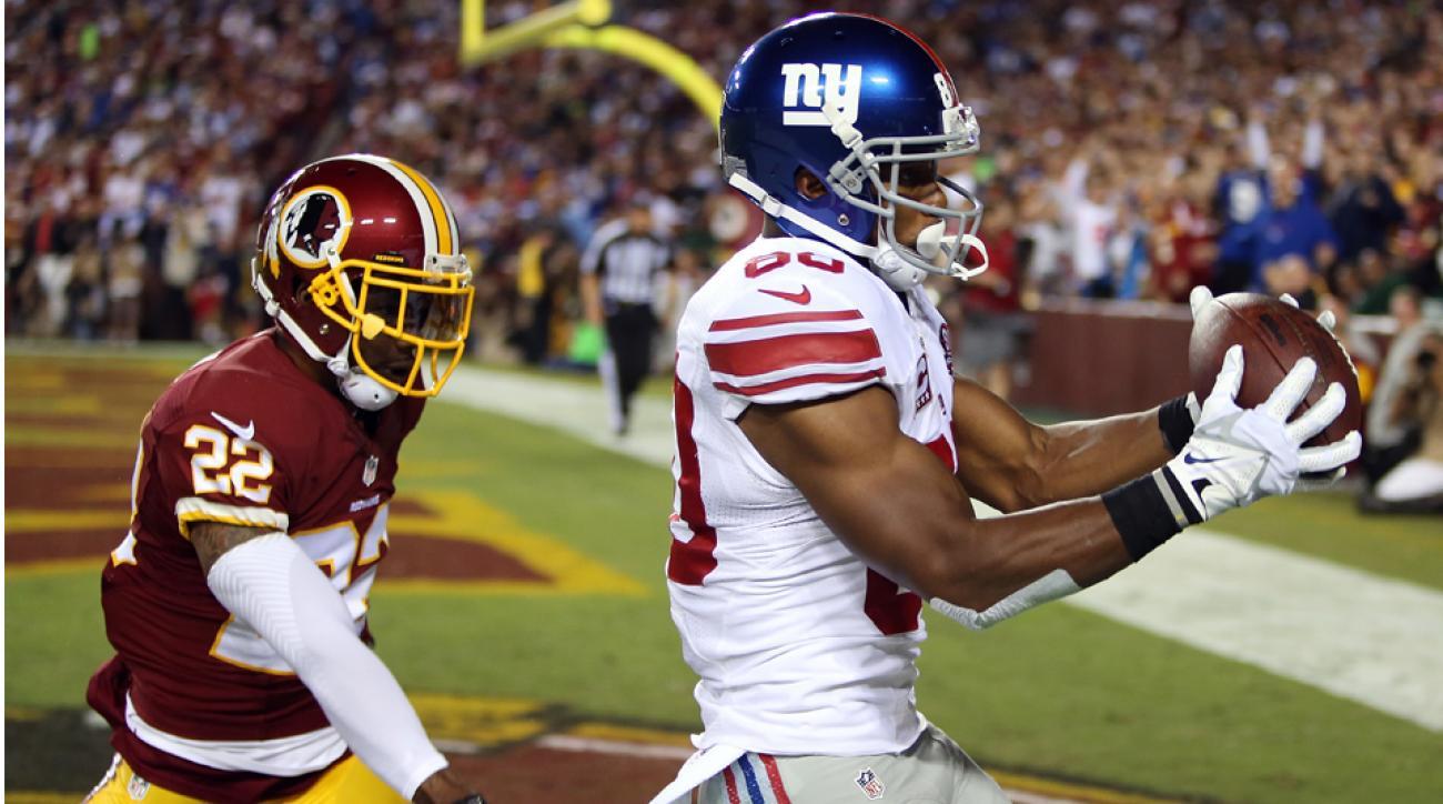 Victor Cruz Giants touchdown catch