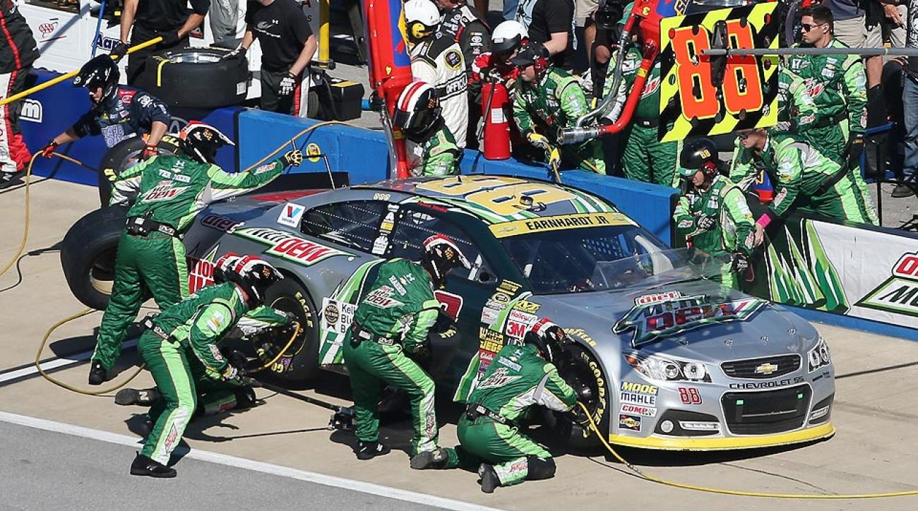 Dale Earnhardt Jr. was eliminated from the Chase on Sunday.