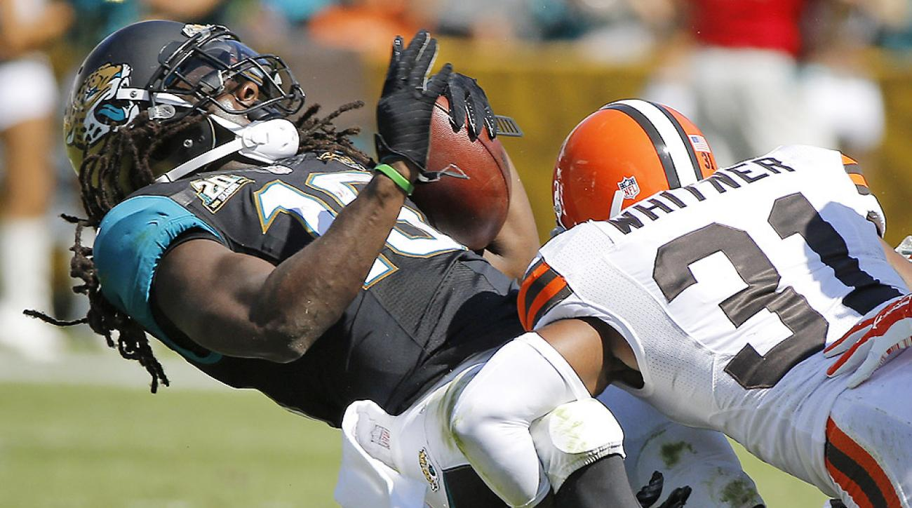 Fantasy Football Week 7: Denard Robinson impresses for Jacksonville Jaguars