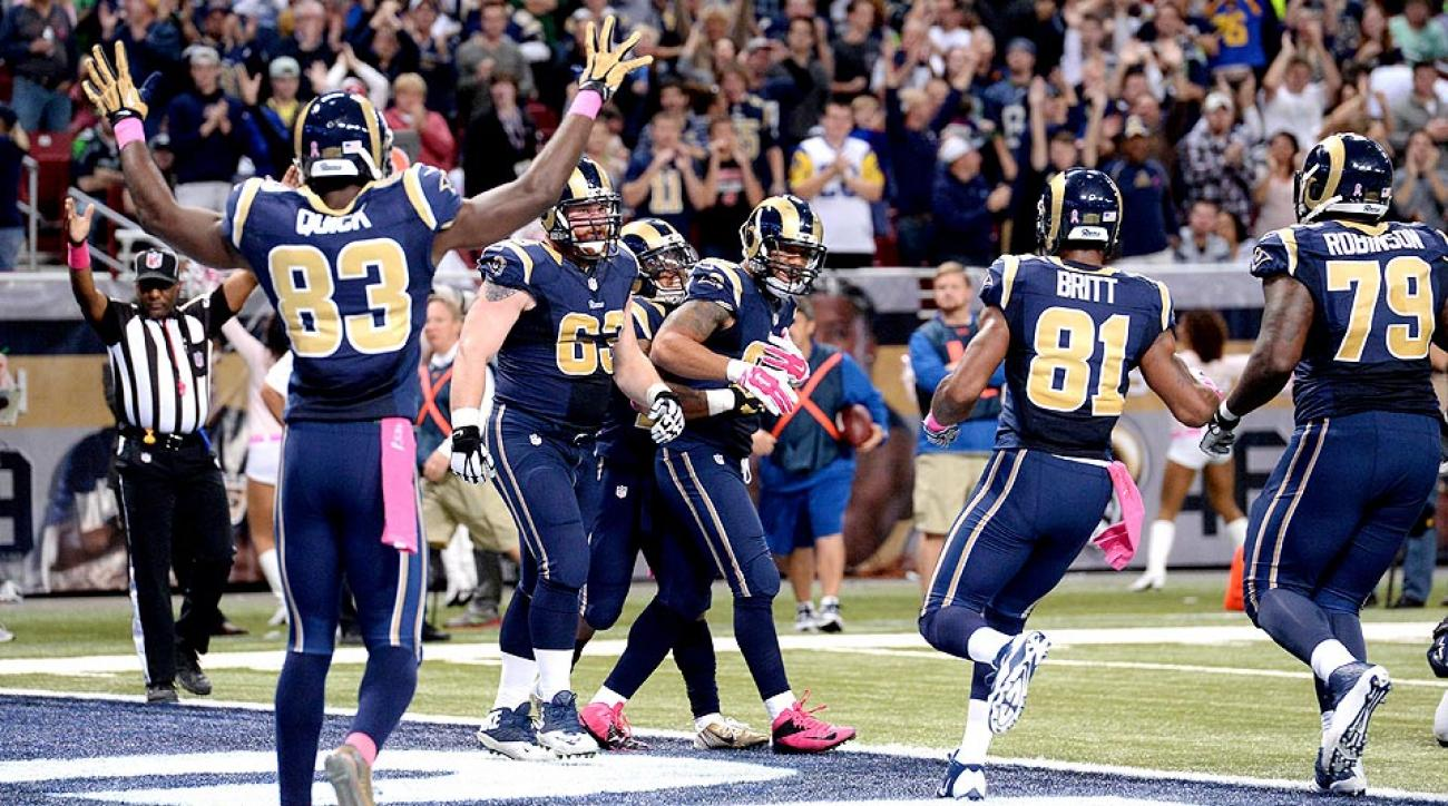 St. Louis Rams fake out Seattle Seahawks on amazing punt return for touchdown