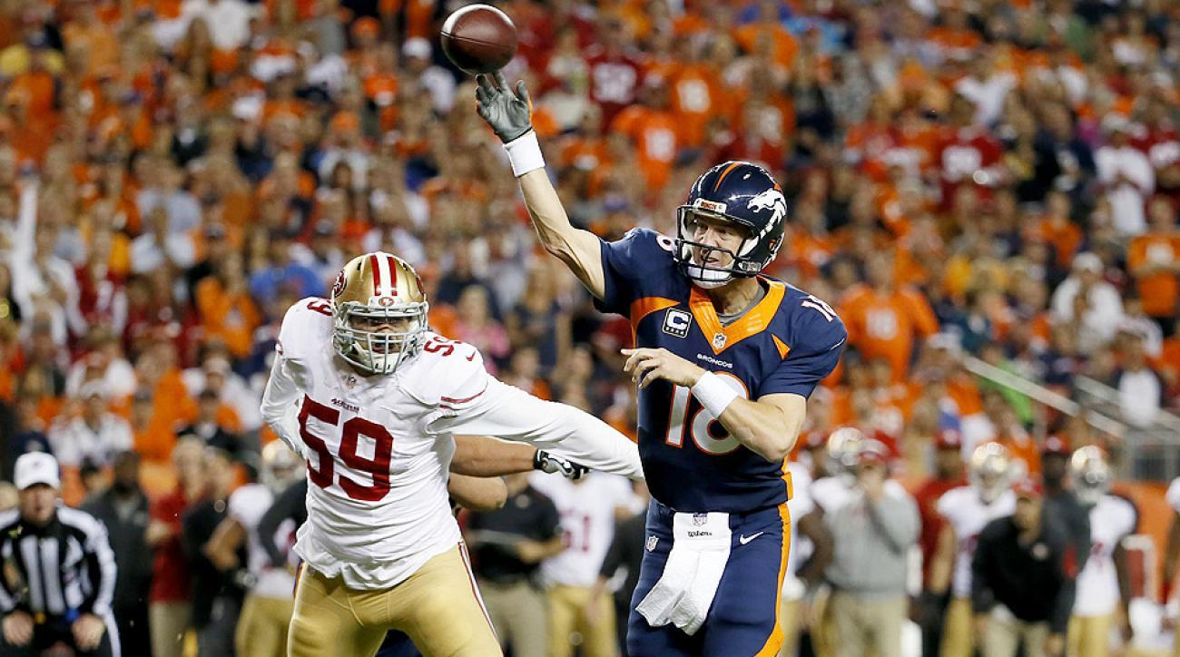 Peyton Manning breaks Brett Favre NFL record for most career touchdown passes