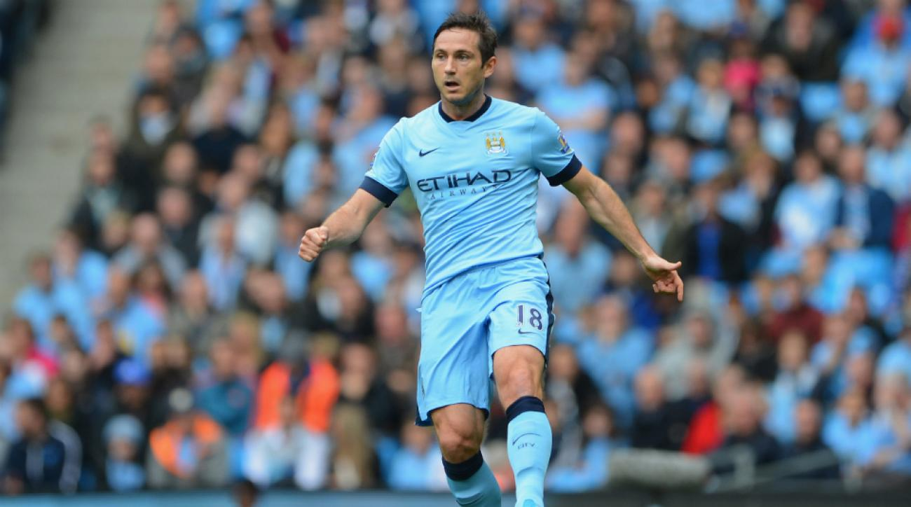 Frank Lampard out Manchester City vs CSKA Moscow Champions League