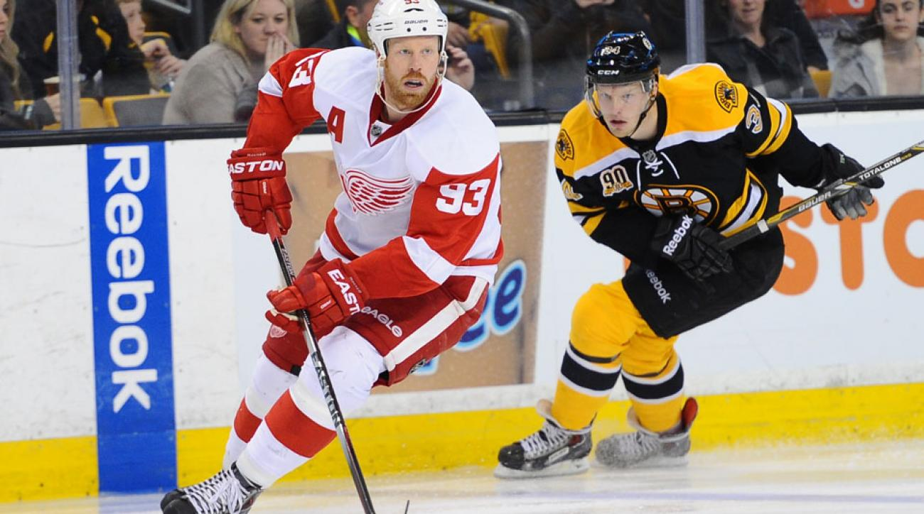 The Detroit Red Wings placed Johan Franzen on the 7-day IR.