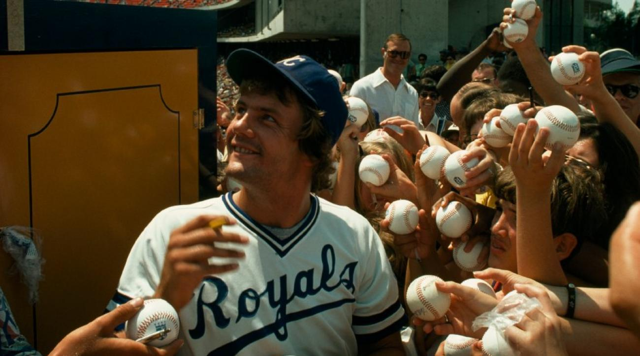 "Lorde has said ""Royals"" was partially inspired by this photo of George Brett"