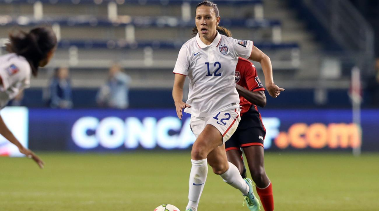 U.S. women's national team midfielder Lauren Holiday has proven to be a versatile piece for manager Jill Ellis.