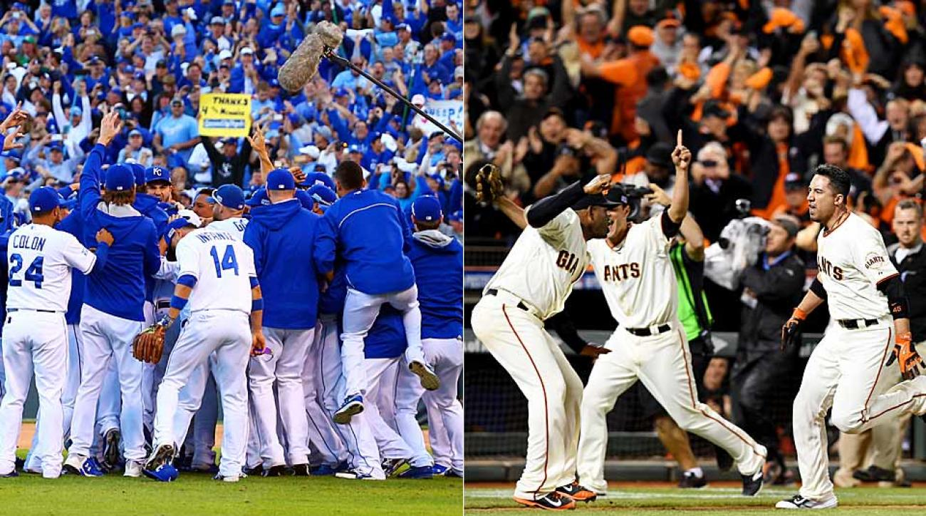 World Series coverage Royals Giants