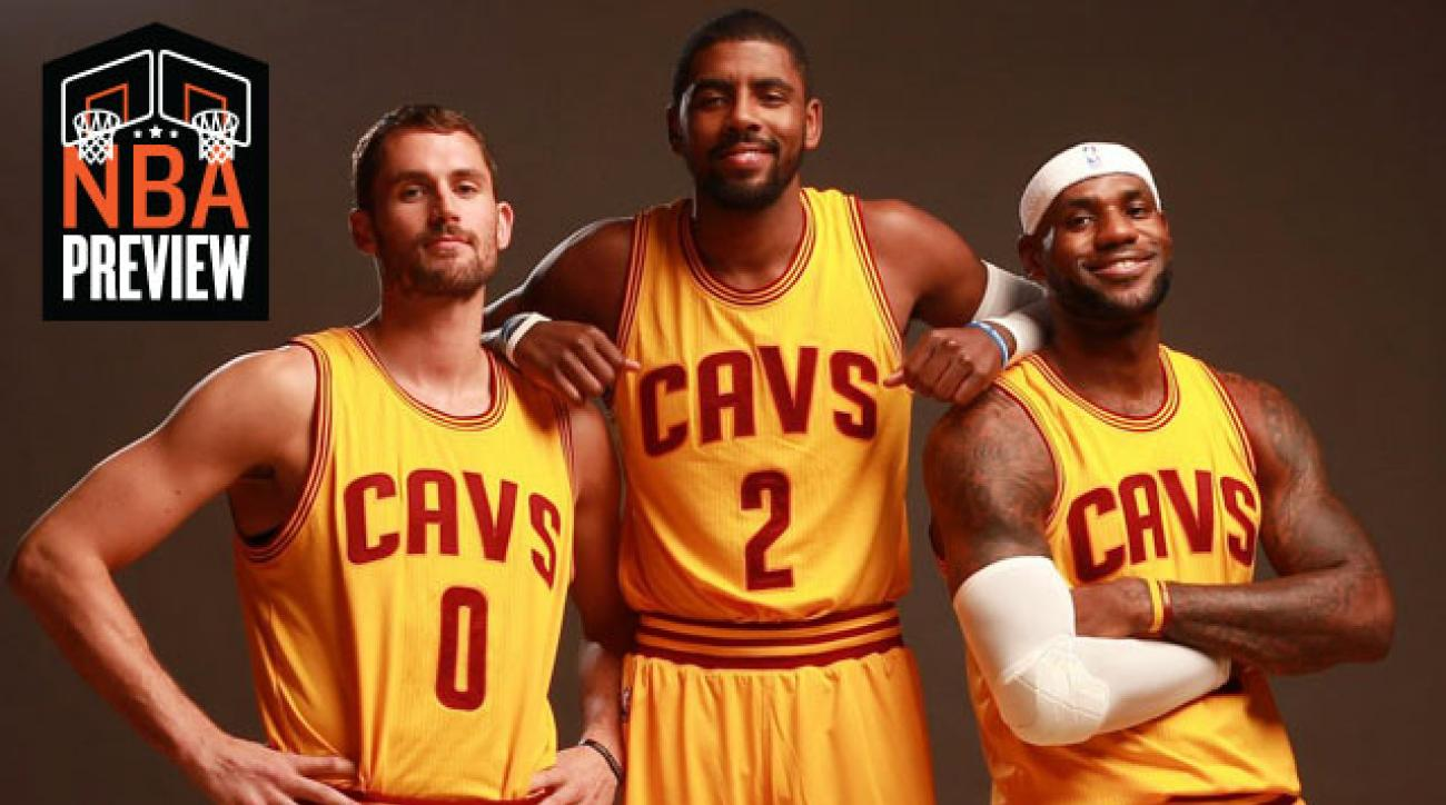 Kevin Love; Kyrie Irving; LeBron James