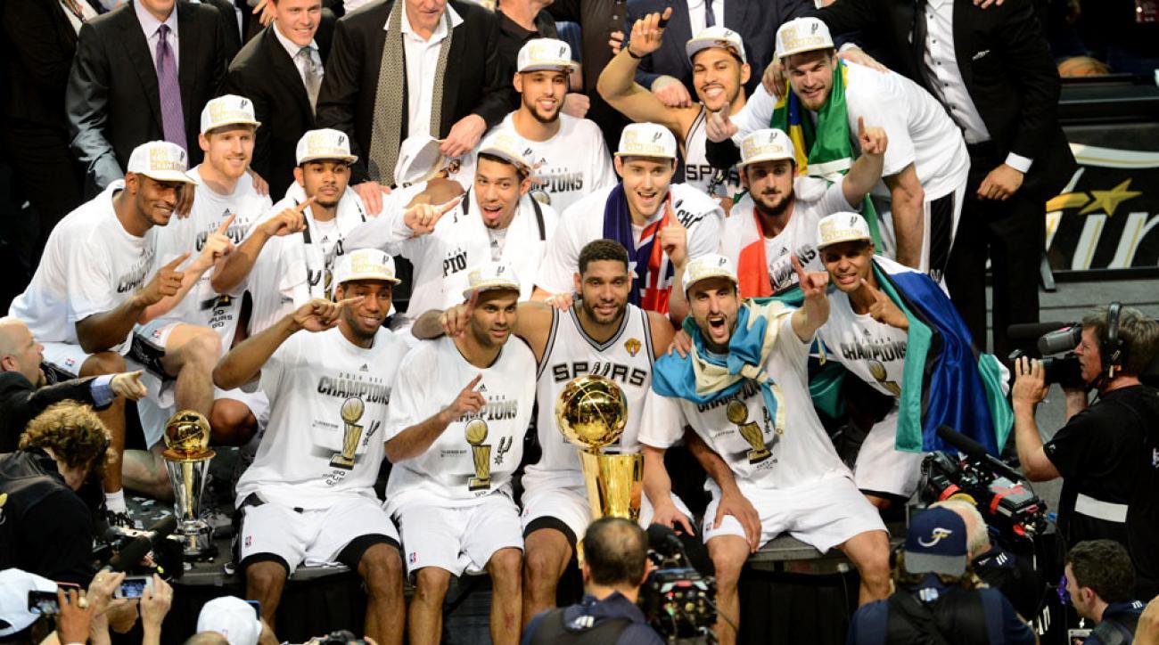 San Antonio Spurs win title