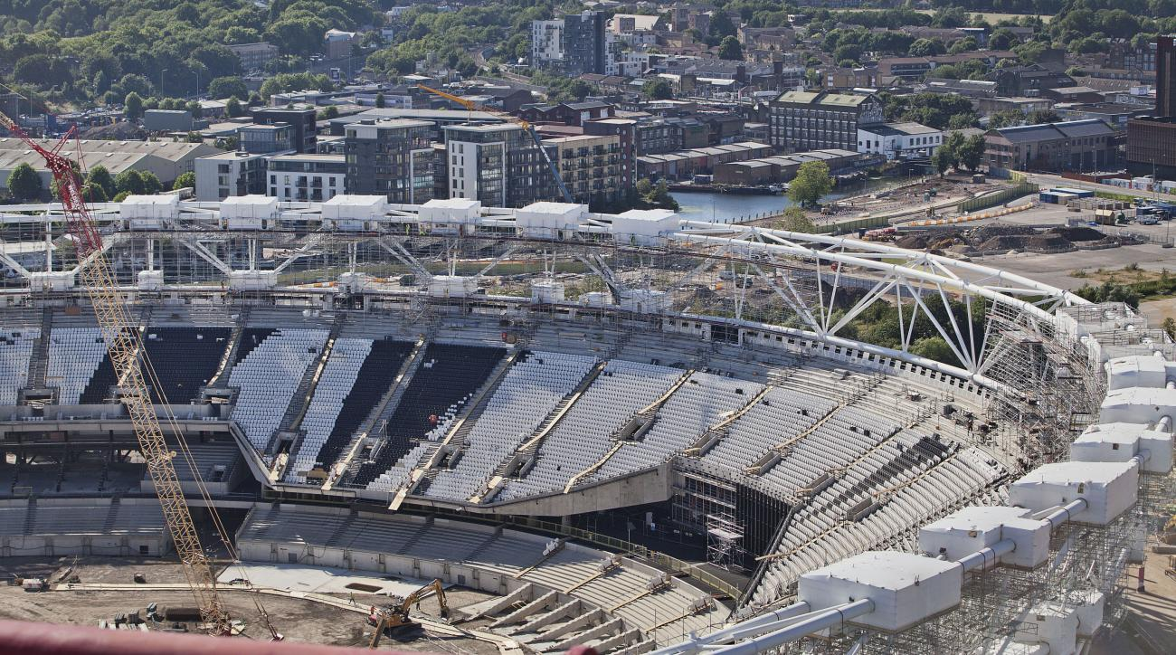West Ham Olympic Stadium conversion